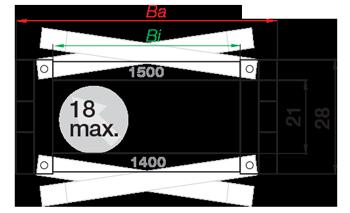 Igus Серия 1500.020.038.0 максимальный диаметр кабеля