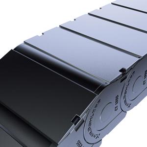 Закрытые кабеленесущие системы Kabelschlepp TUBE, Серия CoverTrax