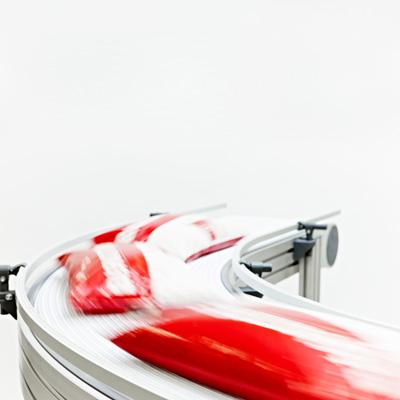 Модульные ленты System Plast для пищевой промышленности